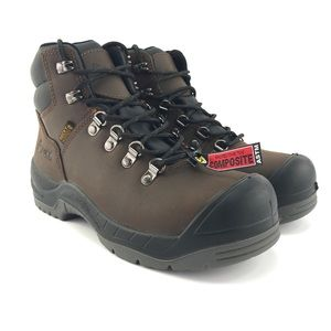 ROCKY Womens Worksmart Comp Toe Work Boots Size 9